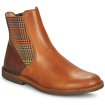 Chaussures Femme Boots Kickers TINTO Camel