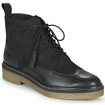 Chaussures Femme Boots Kickers OXANYHIGH Noir
