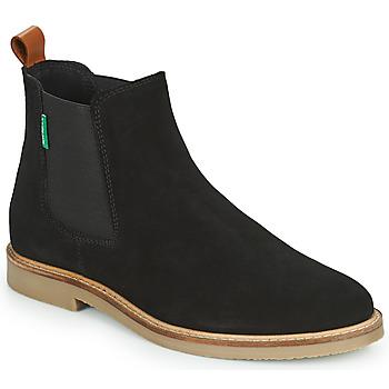 Chaussures Femme Boots Kickers TYGA Noir