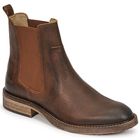 Chaussures Femme Boots Kickers ALPHASEA Camel