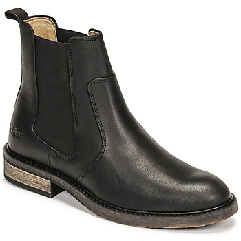Chaussures Femme Boots Kickers ALPHASEA Noir