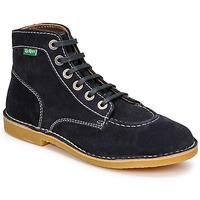 Chaussures Femme Boots Kickers ORILEGEND Marine