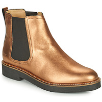 Chaussures Femme Boots Kickers OXFORDCHIC Bronze