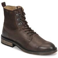 Chaussures Femme Boots Kickers ALPHAHOOK Marron