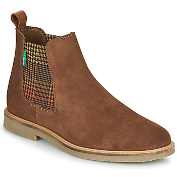 Chaussures Femme Boots Kickers TYGA Camel