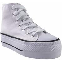 Chaussures Femme Multisport Bienve Toile Lady  ABX012 Blanc Blanc