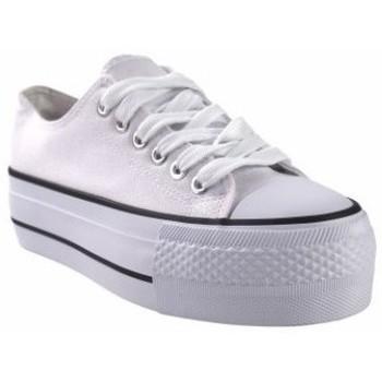 Chaussures Femme Multisport Bienve Toile Lady  ABX026 Blanc Blanc