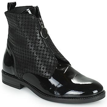 Chaussures Femme Boots Myma TUALINA Noir