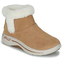 Chaussures Femme Boots Skechers GO WALK ARCH FIT Marron