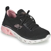 Chaussures Femme Baskets basses Skechers GLIDE-STEP SPORT Noir / Rose
