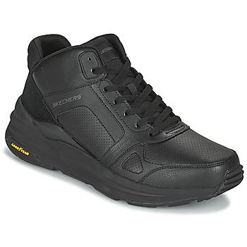 Chaussures Homme Baskets montantes Skechers GLOBAL JOGGER Noir