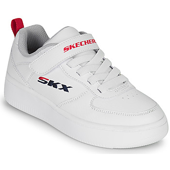 Chaussures Enfant Baskets basses Skechers SPORT COURT 92 Blanc