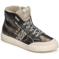 Chaussures Femme Baskets montantes Meline CAR1425 Noir