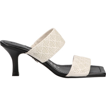Chaussures Femme Mules Bronx Mules Schwarz/Weiß