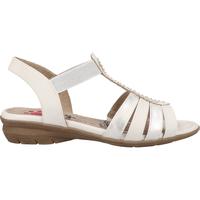 Chaussures Femme Sandales et Nu-pieds Relife Sandales Weiß