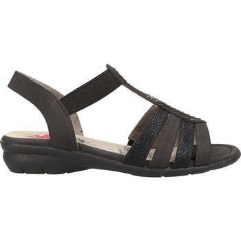 Chaussures Femme Sandales et Nu-pieds Relife Sandales Schwarz
