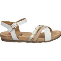 Chaussures Femme Sandales et Nu-pieds Relife Sandales Weiß/Beige