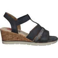 Chaussures Femme Sandales et Nu-pieds Relife Sandales Dunkelblau