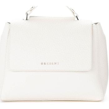 Sacs Femme Sacs porté main Orciani Borsa a mano Sveva Soft Small in pelle bianca Blanc