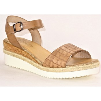 Chaussures Femme Sandales et Nu-pieds Porronet FIPO TAUPE CROCO