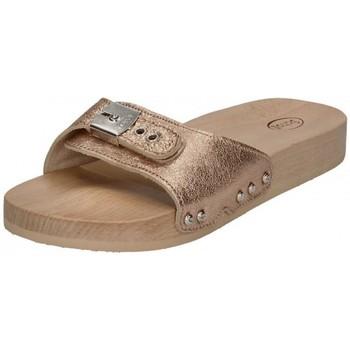 Chaussures Femme Sandales et Nu-pieds Scholl - Mules TARA 792310-50-133 - rose métallisé Rose