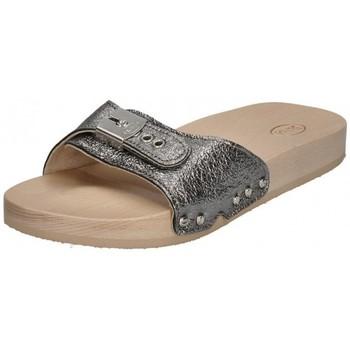 Chaussures Femme Sandales et Nu-pieds Scholl - Mules TARA 792310-50-16 argent métallisé Argenté
