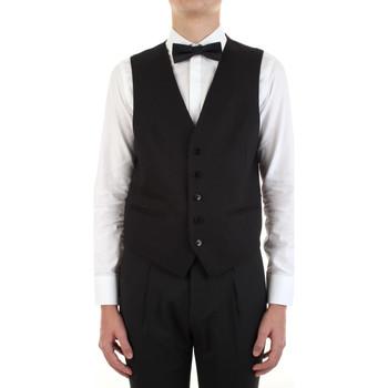 Vêtements Homme Gilets de costume Manuel Ritz 3030W9077-213029 Noir