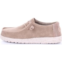 Chaussures Homme Mocassins Hey Dude WALLY LEATHER Marron