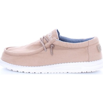 Chaussures Homme Mocassins Hey Dude WALLY WASHED Beige