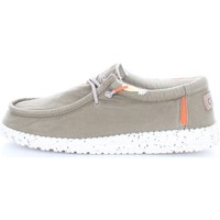 Chaussures Homme Mocassins Hey Dude WALLY WASHED Vert