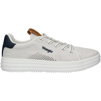 Chaussures Homme Baskets basses Wrangler WM11000A-W0051PE21 faible Homme Blanc