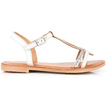 Chaussures Fille Sandales et Nu-pieds Les Tropéziennes par M Belarbi Bada Blanc