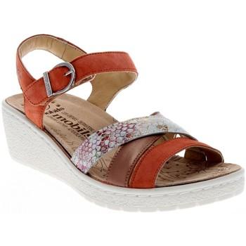 Chaussures Femme Sandales et Nu-pieds Mobils PIETRA TERRACOT