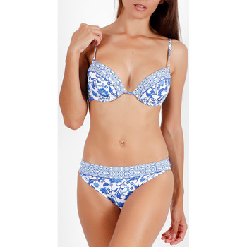 Vêtements Femme Maillots de bain 2 pièces Admas Ensemble 2 pièces bikini push-up Etienne bleu Bleu