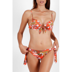Vêtements Femme Maillots de bain 2 pièces Admas Ensemble 2 pièces bikini préformé Jungle Fever orange Orange