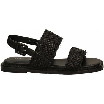 Chaussures Femme Sandales et Nu-pieds Elvio Zanon ZEFIRO INTRECCIO nero