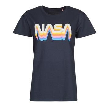 Vêtements T-shirts manches courtes Yurban ORAIN Marine