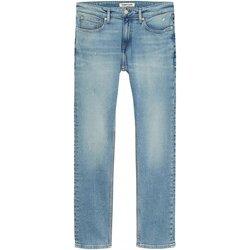 Vêtements Homme Jeans droit Tommy Jeans DM0DM10251 SCANTON Bleu