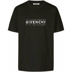 Vêtements Homme T-shirts manches courtes Givenchy BM70SS3002 Noir