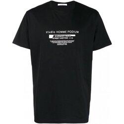 Vêtements Homme T-shirts manches courtes Givenchy BM70SC3002 Noir