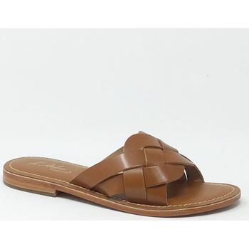 Chaussures Femme Mules L'atelier Tropezien SANDALE TAN Marron