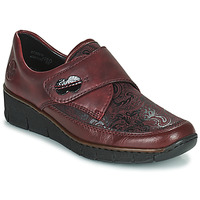 Chaussures Femme Derbies Rieker BOLLE Bordeaux