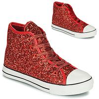 Chaussures Fille Baskets montantes Citrouille et Compagnie OUTIL Rouge