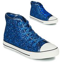 Chaussures Fille Baskets montantes Citrouille et Compagnie OUTIL Bleu
