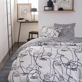 Maison & Déco Parures de lit Today SUNSHINE 5.55 Blanc