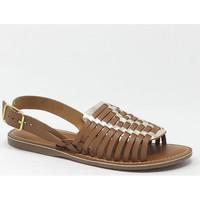 Chaussures Femme Sandales et Nu-pieds L'atelier Tropezien SANDALE TAN /GOLD Doré