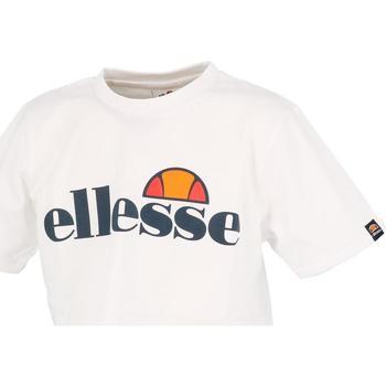 Vêtements Fille T-shirts manches courtes Ellesse Nicky blanc girl teeshirt court Blanc