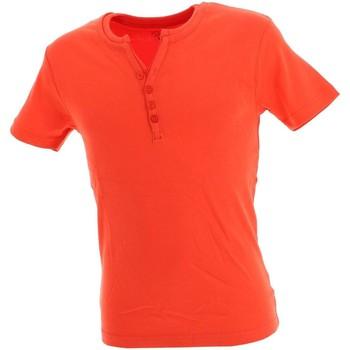 Vêtements Homme T-shirts manches courtes La Maison Blaggio Theo lt org mc tee Orange