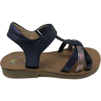 Chaussures Fille Sandales et Nu-pieds Shoo Pom CHAUSSURES  HAPPY SALOME MARINE