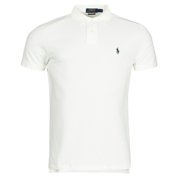 Vêtements Homme Polos manches courtes Polo Ralph Lauren PETRINA Blanc